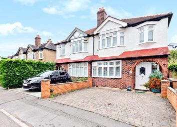 Thumbnail 3 bed semi-detached house for sale in Elmwood Close, Wallington