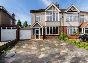 Thumbnail 3 bed semi-detached house for sale in Cranleigh Road, Merton Park