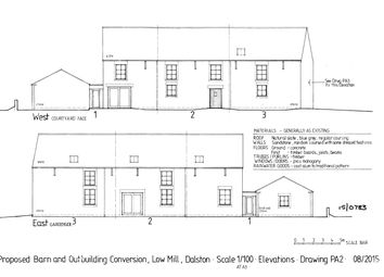 Thumbnail 3 bed barn conversion for sale in Barn 1, Low Mill, Dalston, Carlisle, Cumbria