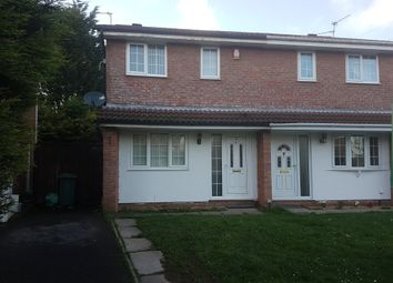 Thumbnail 3 bed semi-detached house for sale in Glenrise Close, St. Mellons, Cardiff