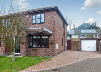 Thumbnail 2 bedroom semi-detached house for sale in Northfield Close, West Butterwick, Scunthorpe