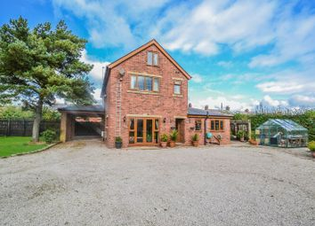Thumbnail 4 bed detached house for sale in Station Road, Little Hoole, Preston
