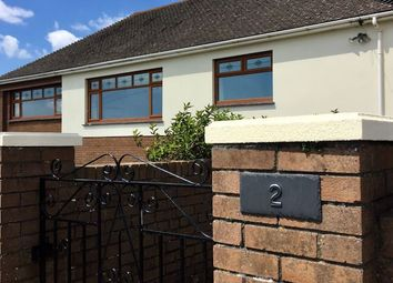Thumbnail 3 bed detached bungalow to rent in West Farm Close, Ogmore By Sea