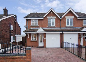 Thumbnail 3 bedroom semi-detached house for sale in Barns Lane, Rushall, Walsall