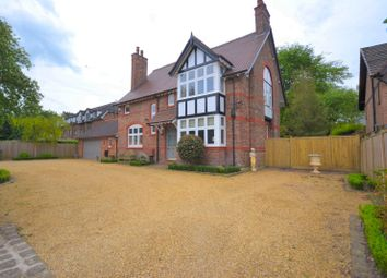 Thumbnail 5 bed detached house to rent in Victoria Road, Wilmslow