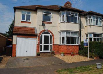 Thumbnail 4 bed semi-detached house for sale in Lynton Avenue, Kingsthorpe, Northampton
