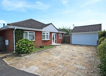 Thumbnail 3 bed detached bungalow for sale in Moat Lane, Barton On Sea, New Milton