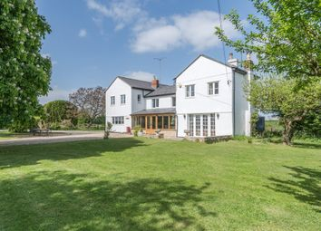 Thumbnail 4 bed detached house for sale in Malmesbury Road, Leigh, Swindon
