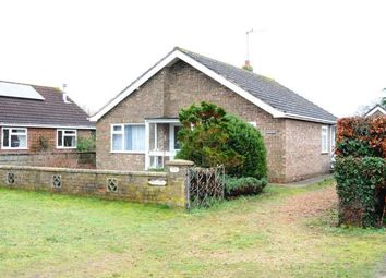Thumbnail 3 bed bungalow for sale in Pott Row, King's Lynn, Norfolk