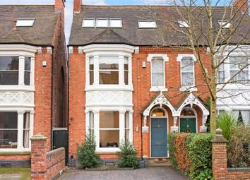 Thumbnail 5 bed semi-detached house for sale in Greenfield Road, Harborne, Birmingham, West Midlands