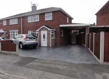 Thumbnail 3 bed semi-detached house to rent in Ullswater Avenue, Orford, Warrington