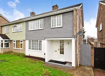 Thumbnail 3 bed semi-detached house for sale in Herondale, Basildon, Essex