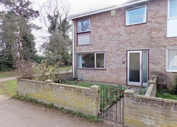 Thumbnail 3 bed end terrace house for sale in Westdale Walk, Kempston, Bedford, Bedfordshire