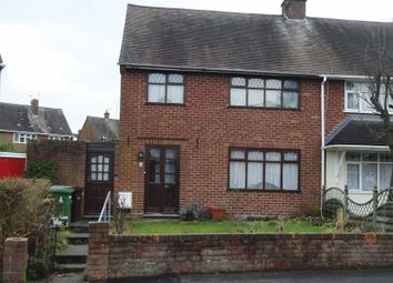 Thumbnail 3 bedroom semi-detached house for sale in Brindley Avenue, Ashmore Park, Wednesfield, Wolverhampton
