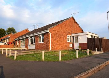 Thumbnail 2 bedroom semi-detached bungalow for sale in Mount View, Leicester