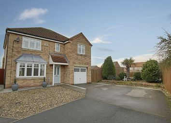 Thumbnail 4 bed detached house for sale in Taillar Road, Hedon, Hull