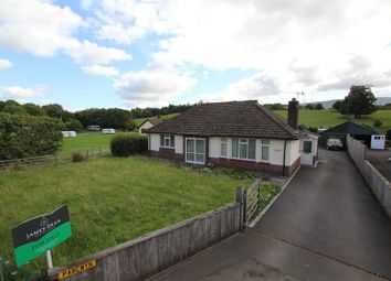 Thumbnail 3 bed detached bungalow for sale in Three Cocks, Brecon