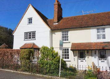 Thumbnail 1 bed terraced house for sale in Rectory Hill, East Bergholt, Ipswich, Suffolk