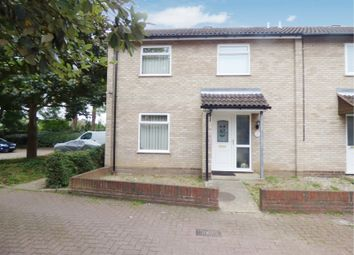 Thumbnail 2 bed end terrace house for sale in Frost Close, Thorpe St. Andrew, Norwich