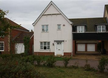 Thumbnail 3 bedroom semi-detached house to rent in Curtis Way, Kesgrave, Ipswich