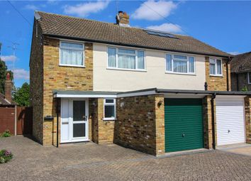 Thumbnail 3 bed semi-detached house for sale in Wentworth Close, Yateley, Hampshire