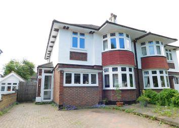 Thumbnail 3 bed semi-detached house for sale in Elgar Avenue, Berrylands, Surbiton