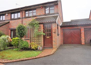 Thumbnail 3 bedroom semi-detached house for sale in Saunder Close, Cheshunt