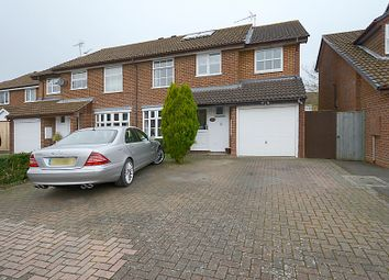 Thumbnail 5 bedroom semi-detached house for sale in Doddington Close, Lower Earley, Reading