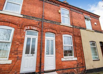 Thumbnail 2 bed terraced house for sale in Gladstone Street, Nottingham