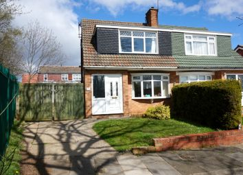 Thumbnail 3 bed semi-detached house for sale in Oakenshaw Drive, Middlesbrough