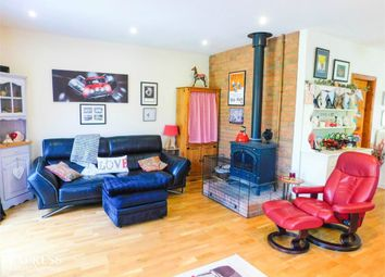 Thumbnail 2 bed detached bungalow for sale in Station Road, Knaith Park, Gainsborough, Lincolnshire