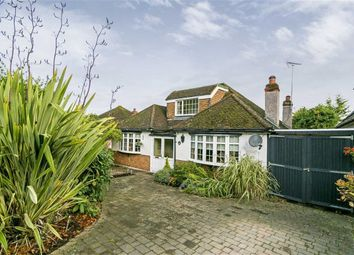 Thumbnail 4 bed detached bungalow for sale in Beaconsfield Road, Epsom, Surrey