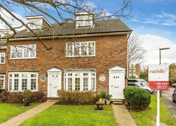 Thumbnail 3 bed end terrace house for sale in Gainsborough Court, Walton-On-Thames, Surrey