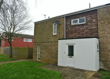 Thumbnail 4 bed end terrace house to rent in Oxclose, Bretton, Peterborough, Cambridgeshire