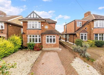 Thumbnail 4 bed detached house for sale in Amberley Gardens, Stoneleigh, Surrey