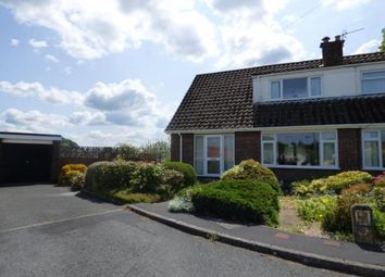 Thumbnail 2 bed semi-detached house for sale in Beechwood Close, Mold, Flintshire