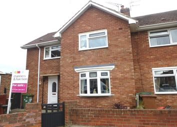 Thumbnail 3 bed end terrace house for sale in Esk Grove, Hartlepool