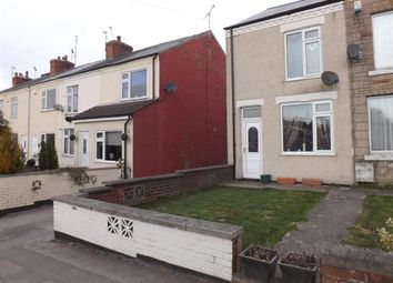 Thumbnail 2 bed end terrace house to rent in Creswell Road, Clowne, Chesterfield