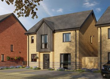 Thumbnail 4 bedroom detached house for sale in Keightley Gate, Glebe Farm, Milton Keynes