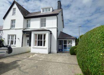 Thumbnail Semi-detached house for sale in Ffordd Dewi Sant, Nefyn, Pwllheli, Gwynedd