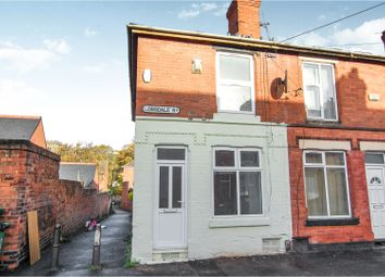 Thumbnail 2 bed end terrace house for sale in Lonsdale Road, Nottingham
