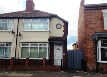 Thumbnail 2 bed semi-detached house for sale in Grainger Street, Darlington