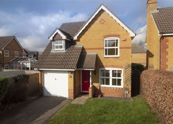 Thumbnail 3 bed detached house for sale in Jessett Drive, Church Crookham, Fleet