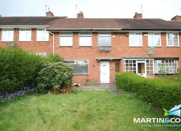 Thumbnail 3 bed terraced house to rent in Quinton Road, Harborne
