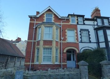 Thumbnail 2 bedroom flat to rent in 26 Hawarden Road, Colwyn Bay