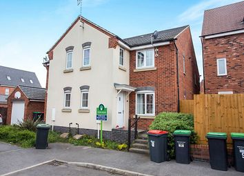 Thumbnail 2 bed semi-detached house for sale in Robin Down Court, Kirkby-In-Ashfield, Nottingham