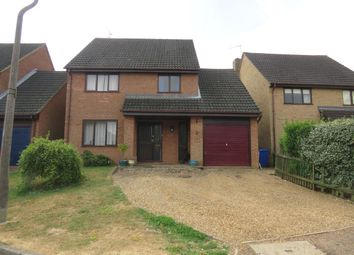 Thumbnail 4 bed detached house for sale in Glebe Way, Cogenhoe, Northampton