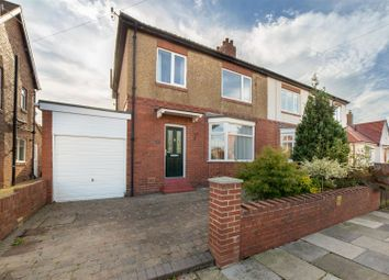 Thumbnail 3 bed semi-detached house for sale in Pinewood Avenue, North Gosforth, Newcastle Upon Tyne