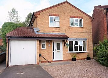 Thumbnail 4 bed detached house for sale in Pine Close, Lutterworth