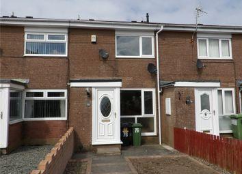 Thumbnail 2 bed terraced house to rent in Harringdale Road, High Harrington, Workington